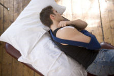 sleeping with your arm in a sling